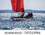 thessaloniki  greece   august... | Shutterstock . vector #707213986