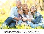cute happy children with...   Shutterstock . vector #707232214