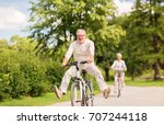 active old age  people and... | Shutterstock . vector #707244118
