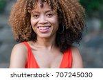 african american woman | Shutterstock . vector #707245030