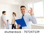real estate  mortgage and... | Shutterstock . vector #707247139