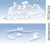 clouds | Shutterstock .eps vector #70726216