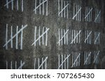 counting days in prison   ... | Shutterstock . vector #707265430