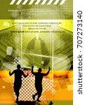 silhouette of marathon runner   Shutterstock .eps vector #707273140