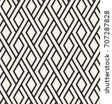 geometric seamless pattern.... | Shutterstock .eps vector #707287828
