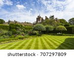 holker hall country house  ... | Shutterstock . vector #707297809