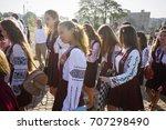 ukraine  ivano frankivsk ... | Shutterstock . vector #707298490
