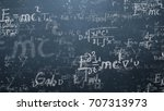 background shot of blackboard... | Shutterstock . vector #707313973