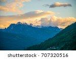 prokletije mountain top at... | Shutterstock . vector #707320516
