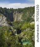 plitvice   croatia   | Shutterstock . vector #707331250