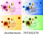 eps10 vector set of advertising ... | Shutterstock .eps vector #707332270