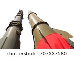 rockets of missile complex... | Shutterstock . vector #707337580