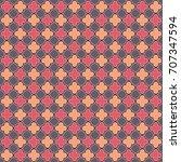 seamless quatrefoil pattern | Shutterstock . vector #707347594