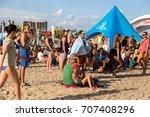 odessa  ukraine  25 august 2017 ... | Shutterstock . vector #707408296