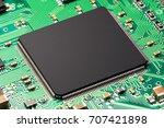 creative abstract electronic... | Shutterstock . vector #707421898