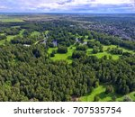 top view of parks in st.... | Shutterstock . vector #707535754