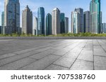cityscape and skyline of... | Shutterstock . vector #707538760