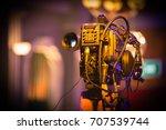 hd camcorder   Shutterstock . vector #707539744