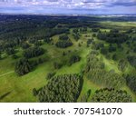 top view of parks in st.... | Shutterstock . vector #707541070