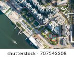 hong kong city from the top | Shutterstock . vector #707543308