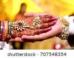 indian wedding   Shutterstock . vector #707548354