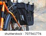 bicycle  bag racks   Shutterstock . vector #707561776