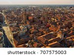bologna from above | Shutterstock . vector #707575003