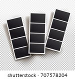 square frame template with... | Shutterstock .eps vector #707578204