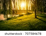 park in china | Shutterstock . vector #707584678