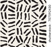seamless freehand pattern.... | Shutterstock .eps vector #707592430