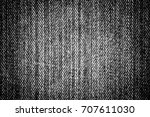 black jeans texture background | Shutterstock . vector #707611030