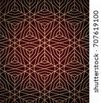 geometric pattern seamless | Shutterstock .eps vector #707619100