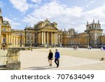 blenheim palace  oxford  united ... | Shutterstock . vector #707634049