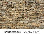 stone wall texture for... | Shutterstock . vector #707674474