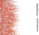 abstract geometric white red... | Shutterstock .eps vector #707682898