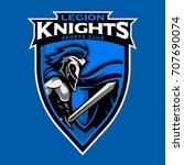 legion knight mascot symbol and ...