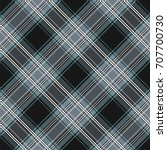 seamless tartan plaid pattern.... | Shutterstock .eps vector #707700730