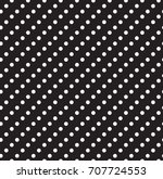 geometric black and white... | Shutterstock .eps vector #707724553