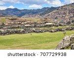 sacsayhuaman  saksaq waman ...   Shutterstock . vector #707729938