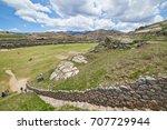 sacsayhuaman  saksaq waman ...   Shutterstock . vector #707729944