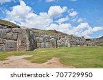 sacsayhuaman  saksaq waman ...   Shutterstock . vector #707729950