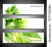 vector header designs  banner... | Shutterstock .eps vector #707734984