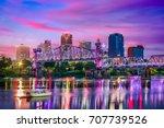 little rock  arkansas  usa... | Shutterstock . vector #707739526