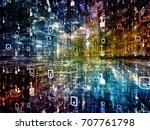 digital city series. visually... | Shutterstock . vector #707761798