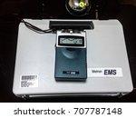 Small photo of Kota Kinabalu Sabah Malaysia - Aug 29, 2017: Metron DIGI EMS Machine Kit Two Channel Muscle Stimulationy Unit using digital technology. Device use to stimulate muscle of Bell's Palsy patient.