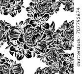 abstract elegance seamless... | Shutterstock .eps vector #707792674