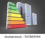 3d illustration of city over...   Shutterstock . vector #707809594