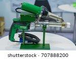 manual welding extruder for... | Shutterstock . vector #707888200