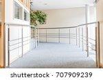 floor of an retirement home ... | Shutterstock . vector #707909239