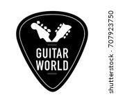 logo for musical instruments... | Shutterstock .eps vector #707923750